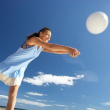 Volleyball players have 116% risk of Stress Incontinence